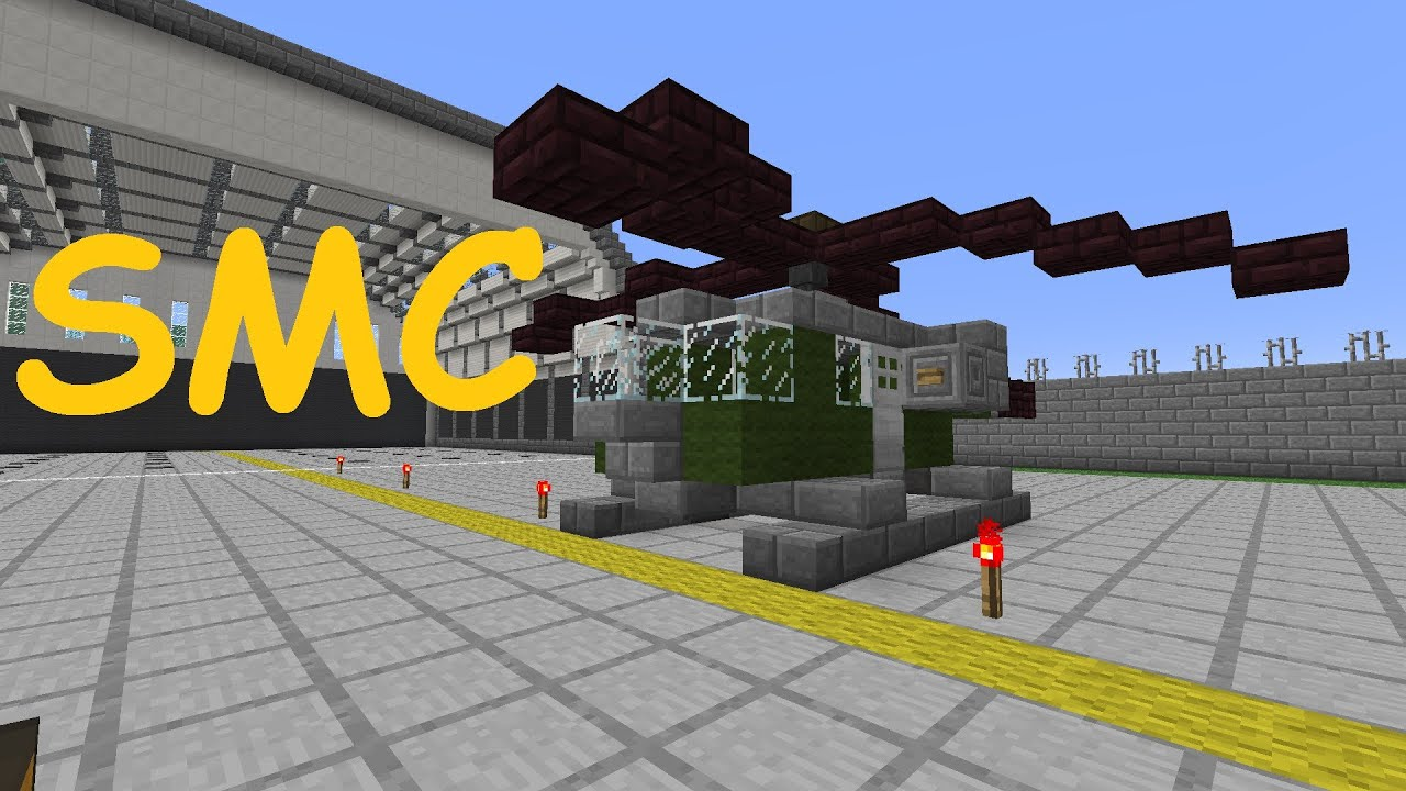 Simis mini creations in minecraft helikopter tutorial