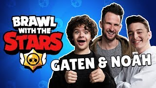 BRAWL with the STARS (ft. Gaten Matarazzo and Noah Schnapp)