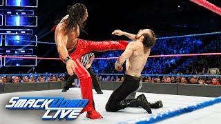 Randy Orton & Shinsuke Nakamura vs. Rusev & Aiden English: SmackDown LIVE, Oct. 10, 2017