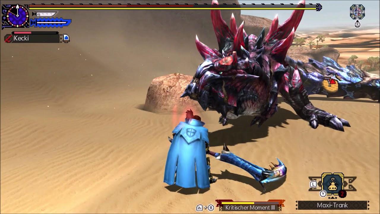 MHGU Glavenus G3☆ Valor Long Sword Speedrun Solo 03'42