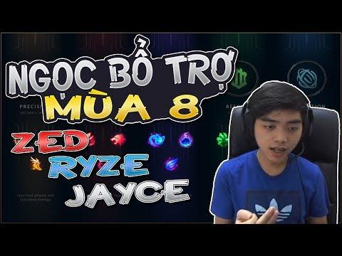 #1 Cùng OPTIMUS tìm hiểu Bảng Ngọc Mới của 3 vị tướng: Ryze - Jayce - Zed