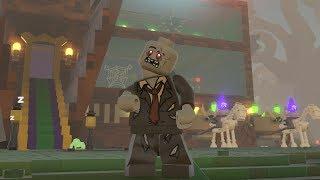 Spooktacular LEGO Heads Battle
