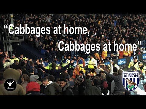 West Brom fans vs Aston Villa - West Midlands Derby