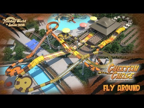 Cheetah Chase Fly-Around | Holiday World & Splashin' Safari