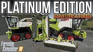 Farming Simulator 19 Platinum Edition Claas DLC: Harvesters & Forage! (Everything You Need To Know!)
