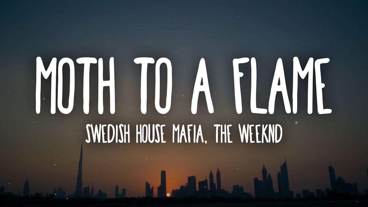 Download Swedish House Mafia, The Weeknd - Moth To A Flame (Lyrics)