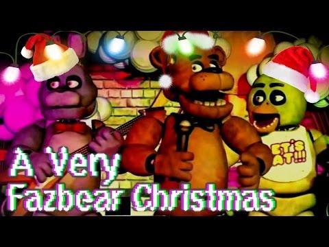 A Very Fazbear Christmas  Five Nights at Freddys Christmas Song!