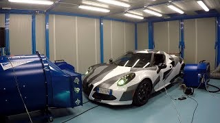 My Friend Remapped his Alfa Romeo 4C [Sub ENG]