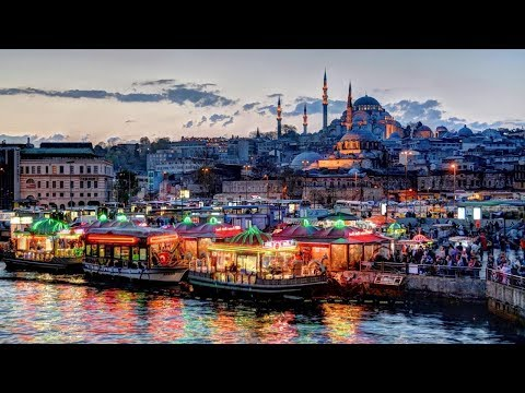 ONLINE ОБЗОР Город Стамбул Турция