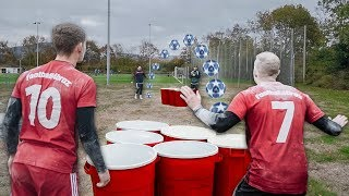 CRAZY FOOTBALL BEER PONG (XXL)