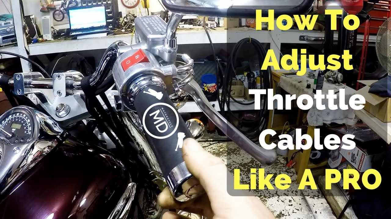 how to adjust throttle cables like a pro youtube honda rebel throttle cable diagram get free image about wiring [ 1280 x 720 Pixel ]