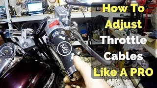 Video How To Adjust Throttle Cables Like A Pro download MP3, 3GP, MP4, WEBM, AVI, FLV September 2018