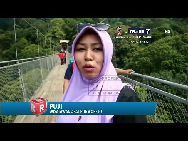 Jembatan Gantung Terpanjang se-Asia Tenggara