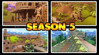 season 5 in Fortnite Battle Royale - Epic Games has it own gel Act!