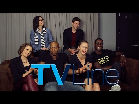 """Supergirl"" Interview at Comic-Con 2015"