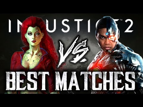Injustice 2: Best Matches 2018 - Big D [Poision Ivy] VS Sooneo [Cyborg]! (IPS TOP8) Mp3