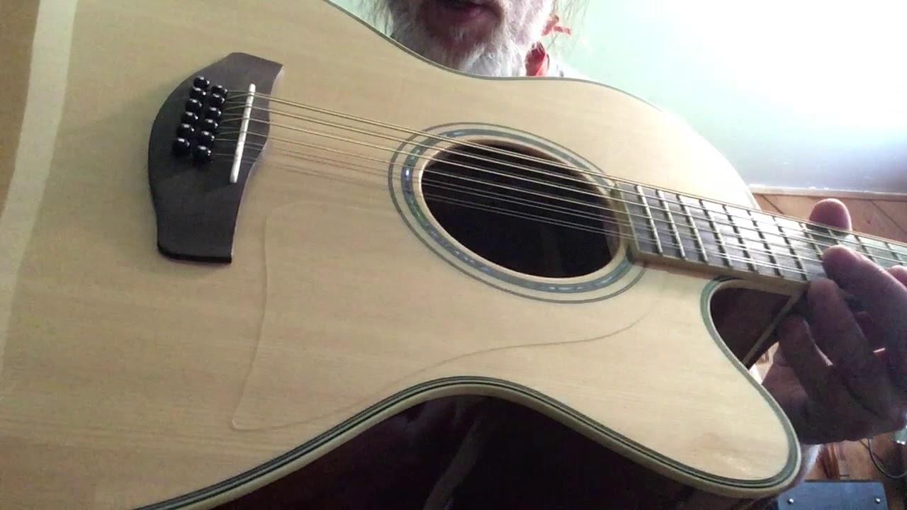 Yamaha CPX700II-12 String E/A Guitar