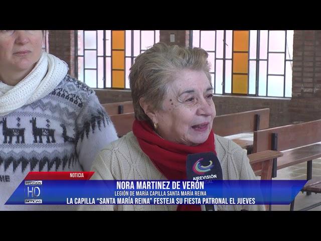 La Capilla Santa María Reina festeja su fiesta patronal el jueves