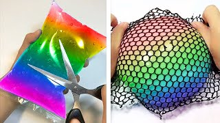 Oddly Satisfying Slime ASMR No Music Videos - Relaxing Slime 2020 - 156