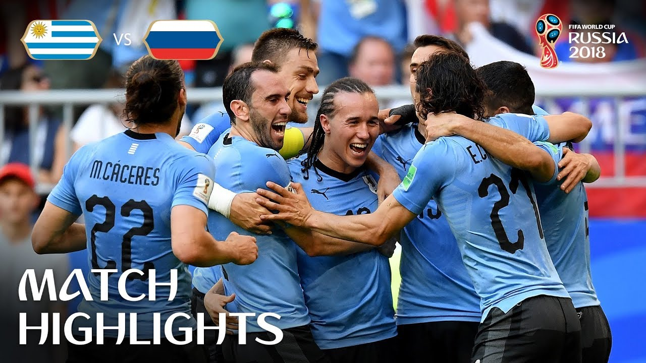 Match Russia - Uruguay 2018 19