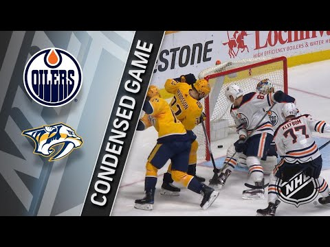 01/09/18 Condensed Game: Oilers @ Predators