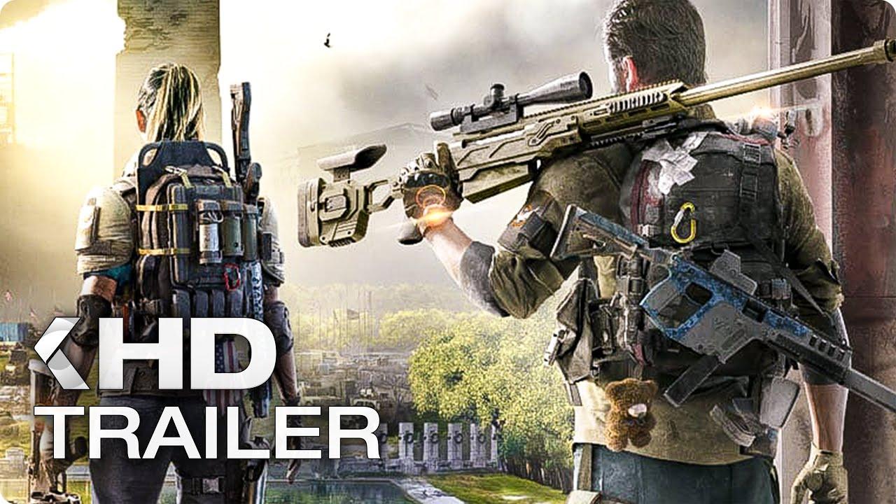 THE DIVISION 2 Cinematic Trailer German Deutsch (E3 2018)
