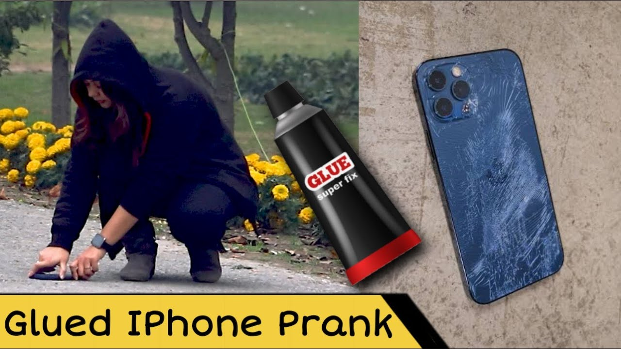 IPhone 12 Pro Max Glued To Floor | Prank in Pakistan