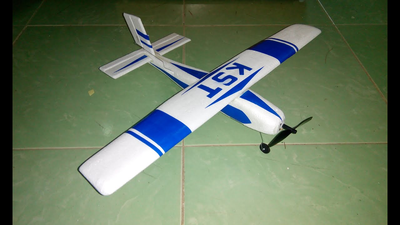 tutorial diy how to make airplane rc airplane remote control