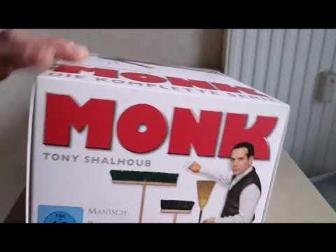 Monk DVD Box💿