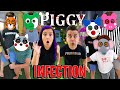 Roblox PIGGY INFECTION Mode IN REAL LIFE Everyone Is Infected with The NOOB Family
