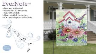 Evernote™ Garden Flag - 14EN3424 Summer Birdhouse Thumbnail