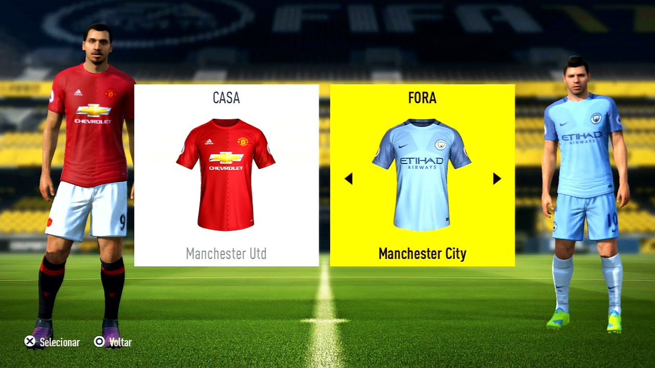 fifa 17 gameplay ps3 x360 manchester united vs. Black Bedroom Furniture Sets. Home Design Ideas