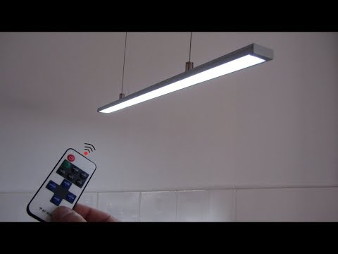 How to Make Ceiling LED Light Profile Remote Control (DIY LED Lamp)