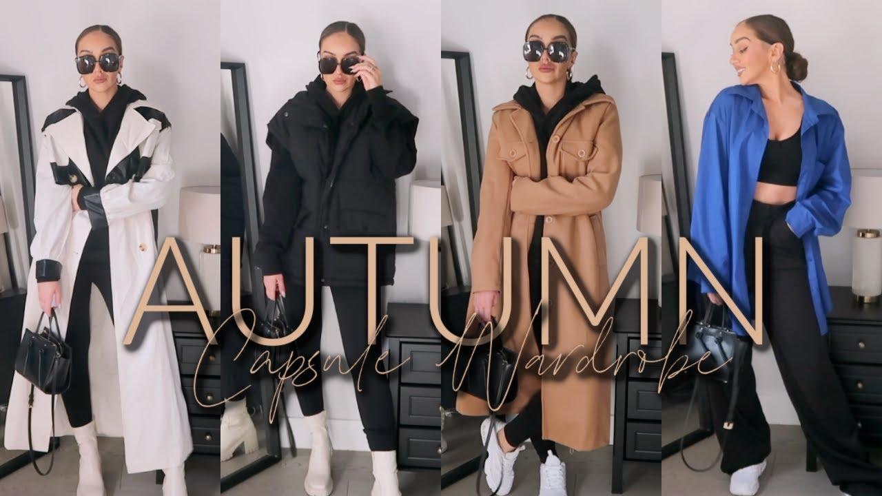 Download AUTUMN CAPSULE WARDROBE 2021 | New season staples / AW outfit ideas