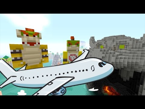 "Minecraft Wii U - Nintendo Fun House - BOWSER JR""S VACATION [31]"