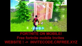 FREE FORTNITE MOBILE CODES - PLAYING Fortnite: Battle Royale LIVE ON IPHONE! - DOWNLOAD Fortnite MAINTENANT