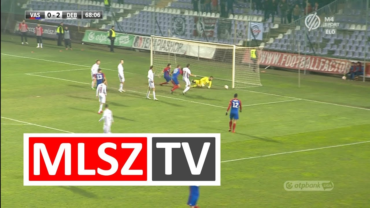Vasas FC - DVSC | 1-5 | OTP Bank Liga | 17. forduló | MLSZTV