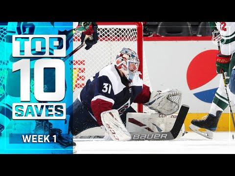 Top 10 Saves From Week 1 | 2019-20 NHL Season
