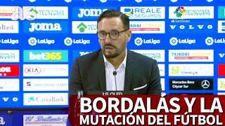 El discurso de Bordalás sobre la mutación del fútbol que hoy tiene más sentido que nunca | Diario AS