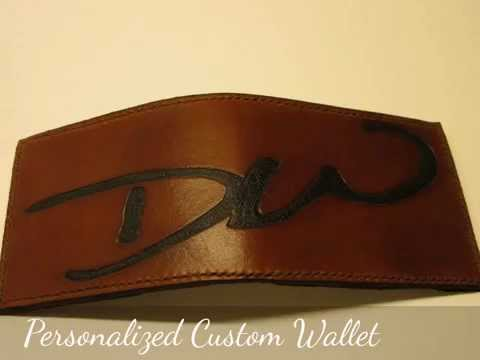 Leather Wallet custom made