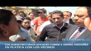 Terminan manifestación contra Mexibús a toletazos
