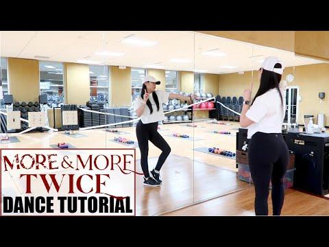 """TWICE """"MORE & MORE"""" Lisa Rhee Dance Tutorial"""