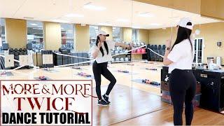"""Gambar cover TWICE """"MORE & MORE"""" Lisa Rhee Dance Tutorial"""