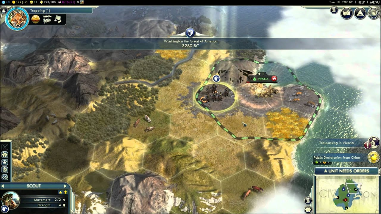 how to play civilization v beginner s tutorial guide w commentary rh youtube com Sid Meier's Civilization 4 Civilization IV