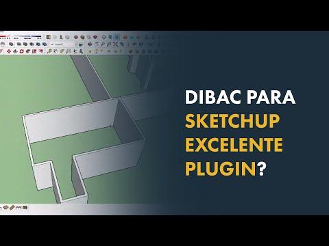 Dibac para Sketchup Excelente Plugin - YouTube