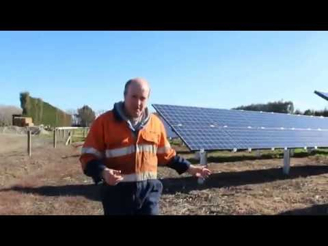 Ground Mount Solar PV tracking system