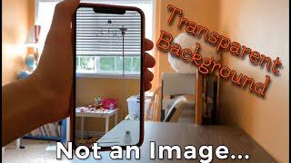 How to set a Transparent Wallpaper on an iPhone (No Jailbreak) screenshot 4
