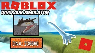 Roblox Dinosaur Simulator - How To Save Up For The Next Hybrid! (200k DNA! My Method)
