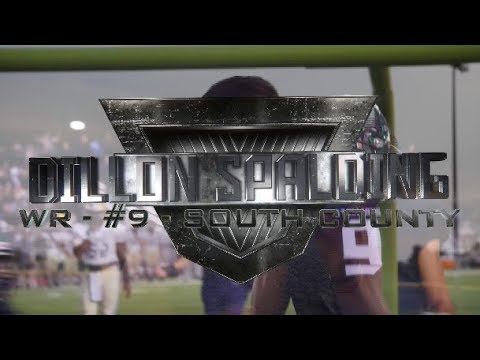 Running the Table: Dillon Spalding - WR - South County - #9