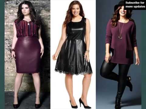 Leather Plus Size Tops For Plus Size Women Picture Collection